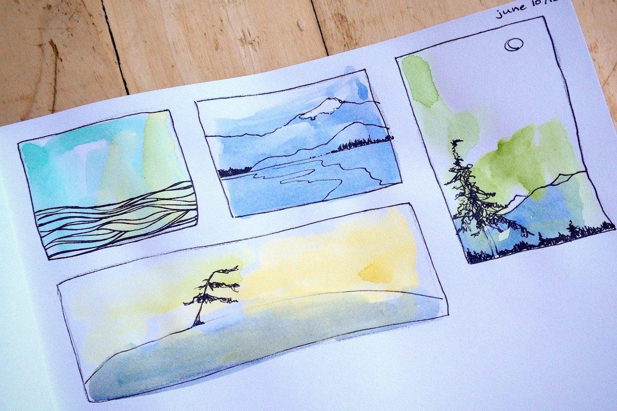 Lupine Art Studio: Beginner Watercolour with Nicole Warrington