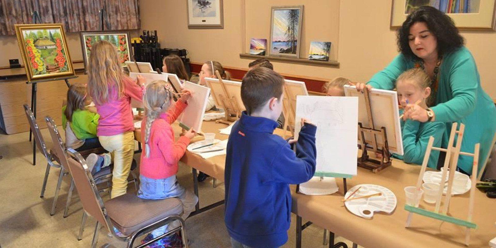 "Kids Art Class \""Fun Way of Drawing Nature\"""