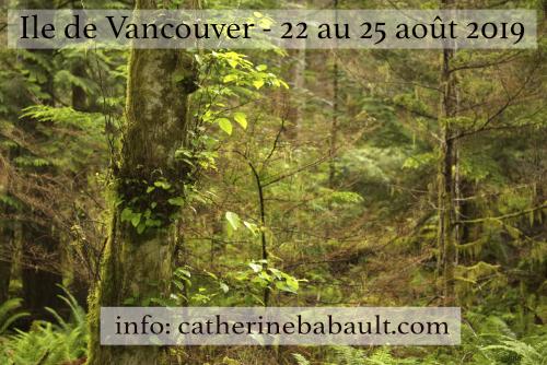Atelier de photo de nature sur l'île de Vancouver