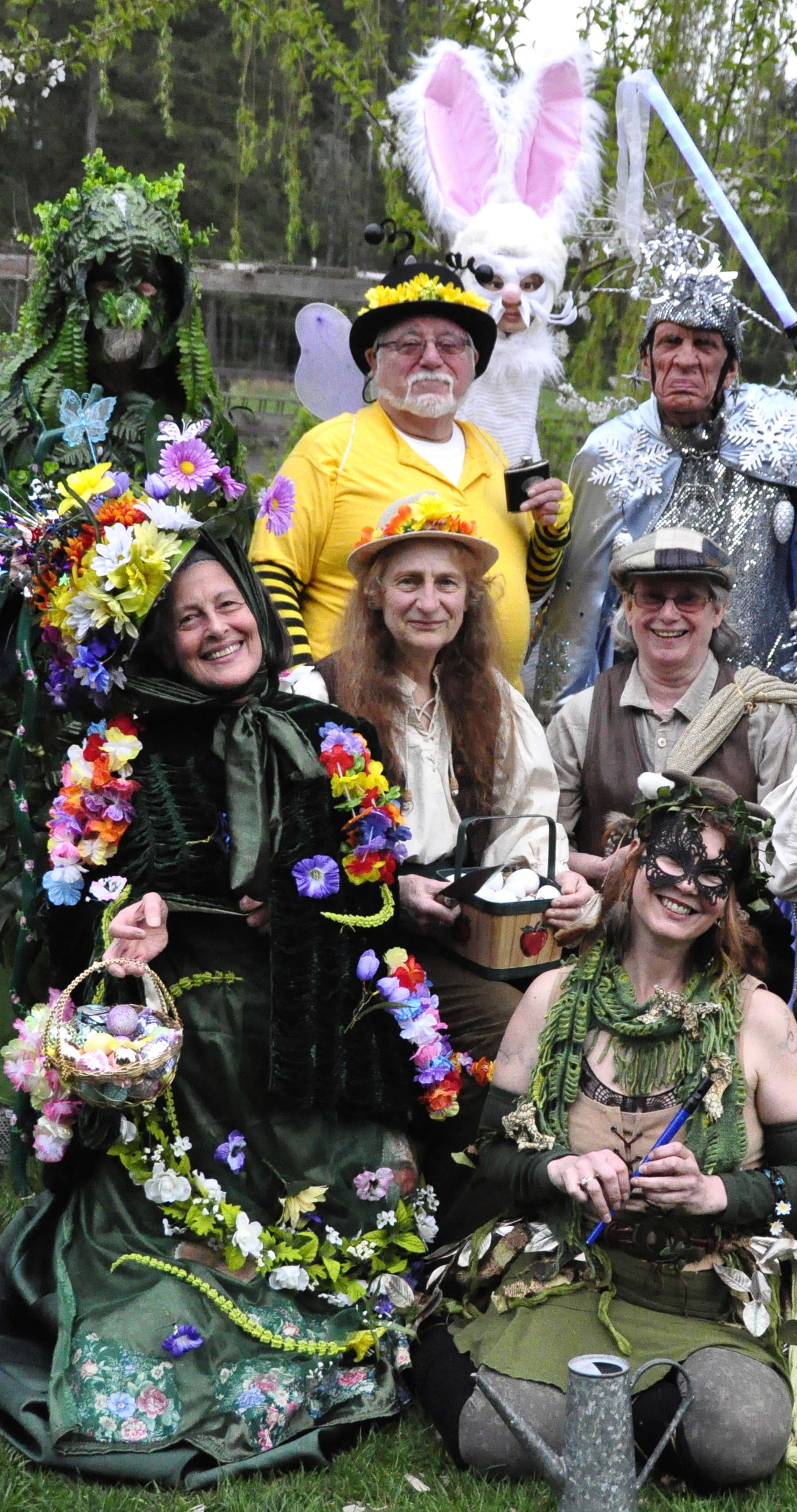 """""""Jack in the Green"""" with The Malarkey Mummers"""