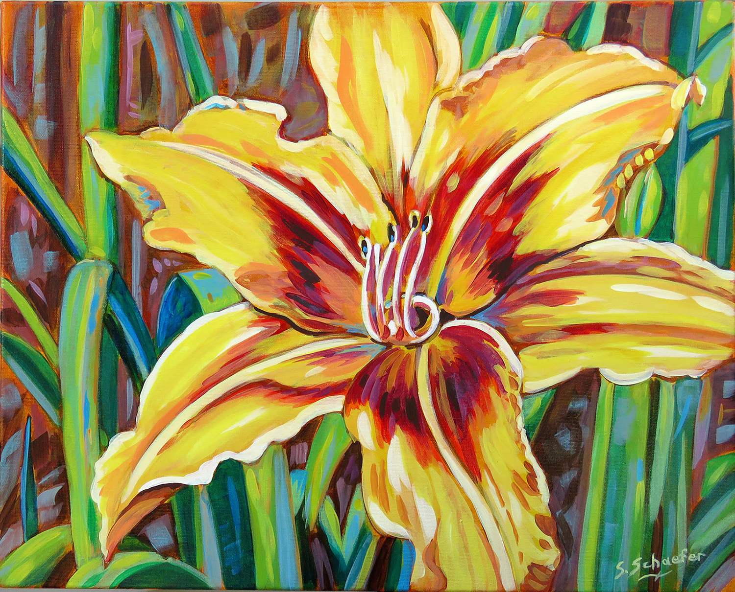 Exploring Florals – Painting with Glazes with Susan Schaefer