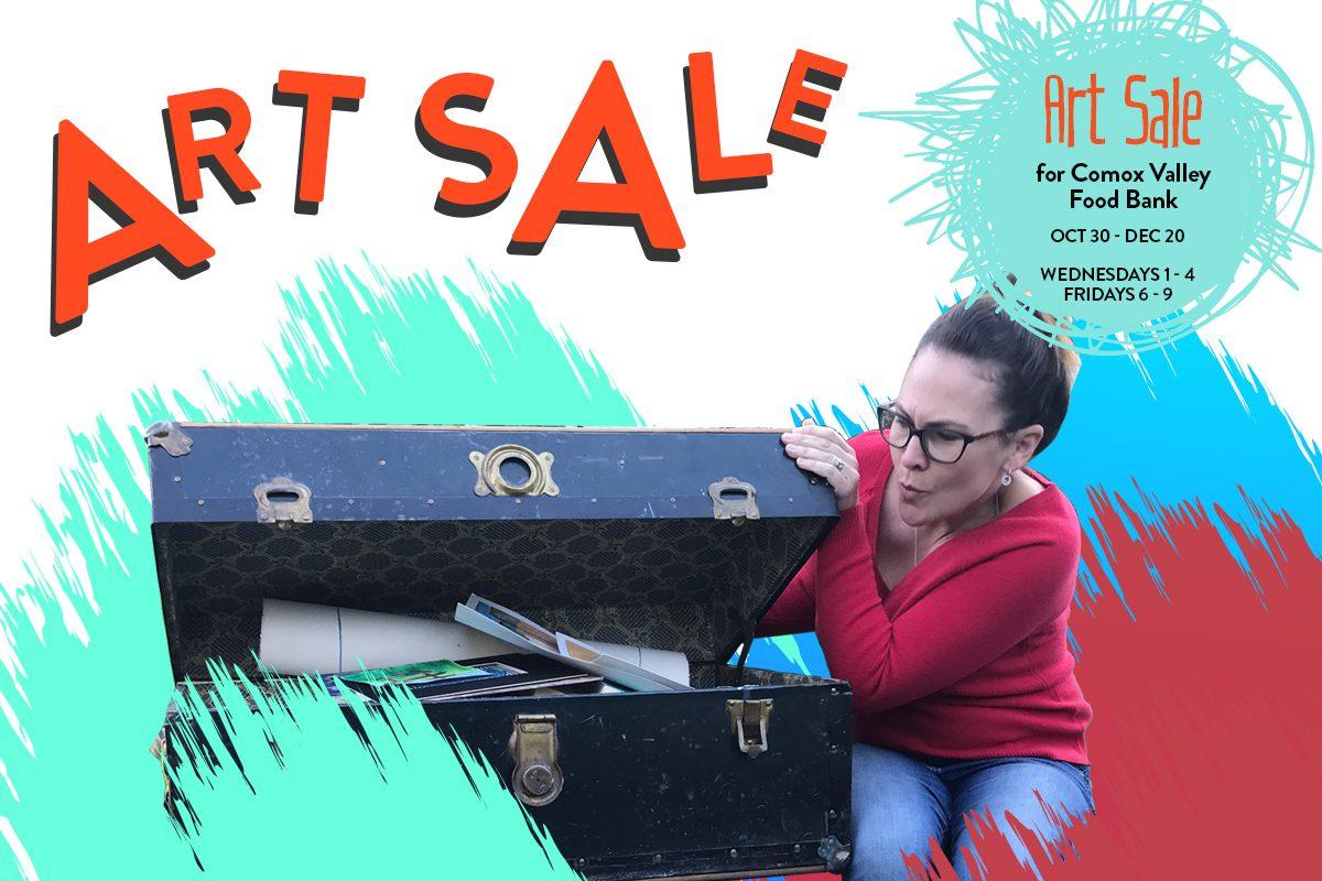 Art Sale for Comox Valley Food Bank