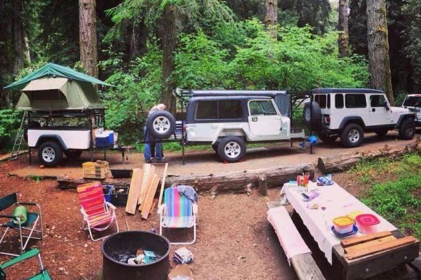 Jeep Trailer Build by Father and Daughter Second Dinoot!