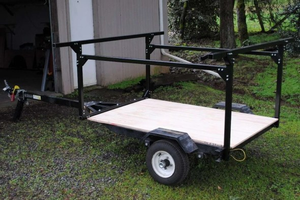 Trailer Racks Trailer pickup truck bed Rack Towers Corners