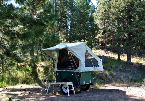 Compact Camping Trailer M.O.A.B Tent