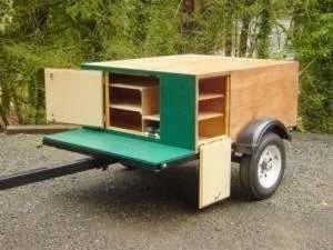 Explorer Box Compact Camping Trailer