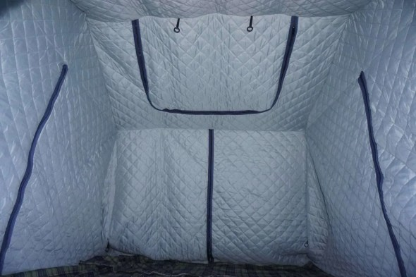 Roof Top Tent Insulator Inside