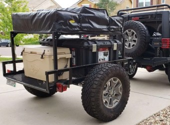Trailer Build Utility Camping Trailer by Denny