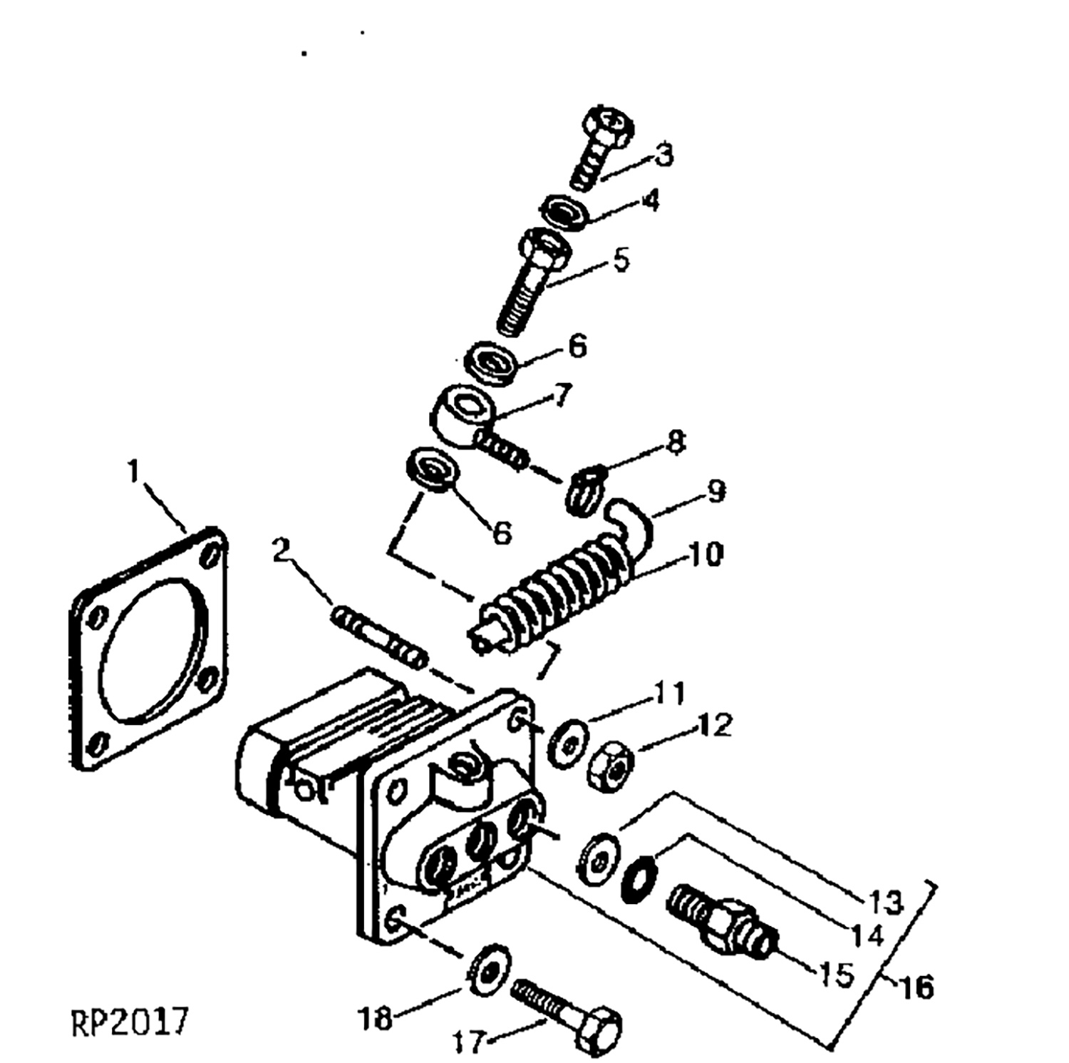 Fuel Injection Pump Assembly