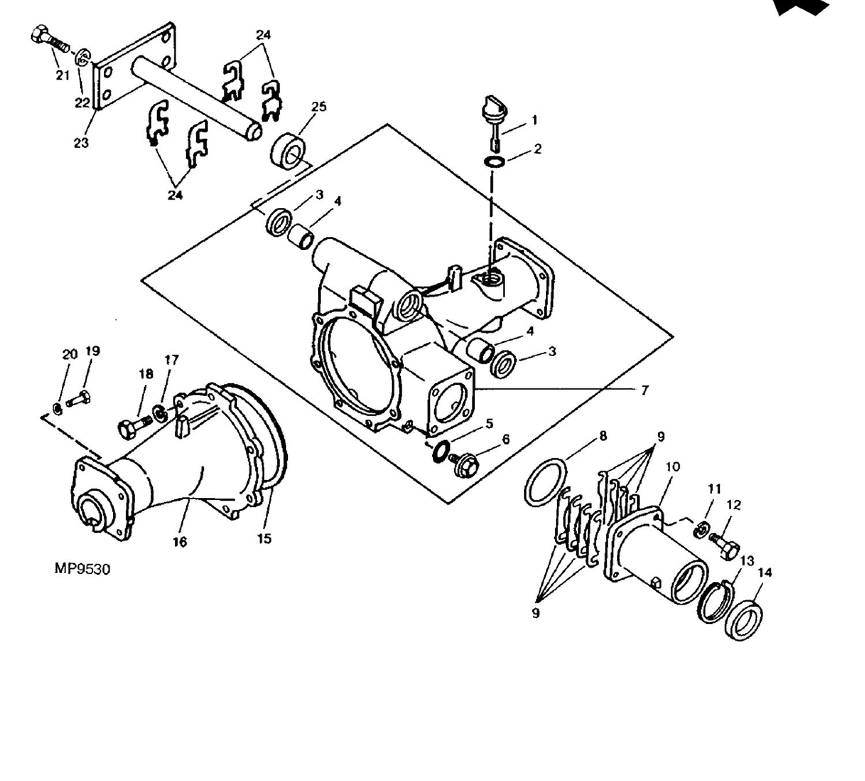 Front Axle Drain Plug 4wd