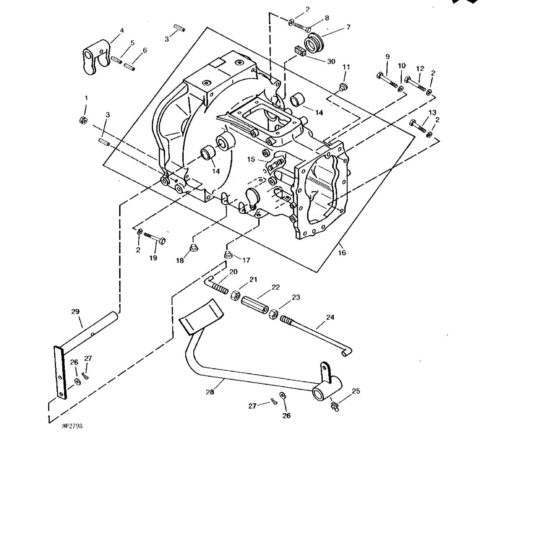 Clutch Rods Clutch Spring For John Deere Compact Tractors