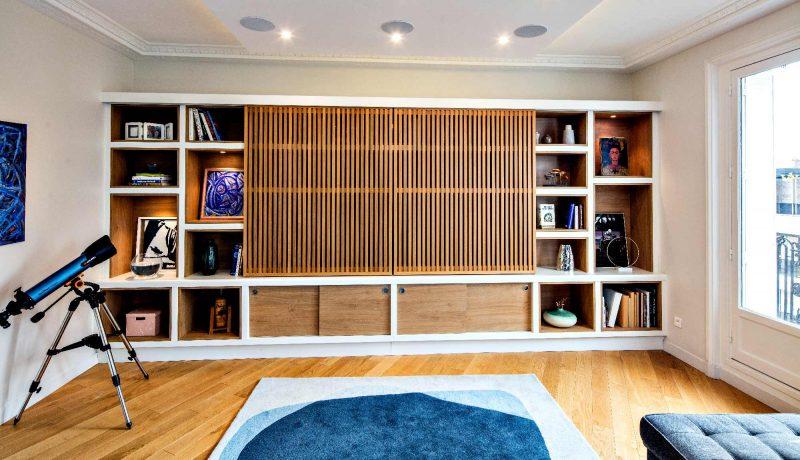 bibliotheque design et sur mesure la