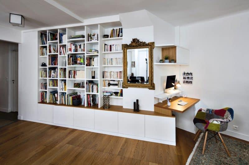 Bibliotheque Design Et Sur Mesure La Compagnie Des Ateliers