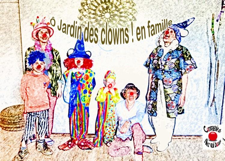 Ô Jardin des clowns ! en famille