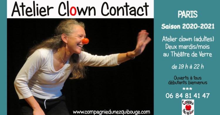Atelier bi-mensuel Clown Contact Paris