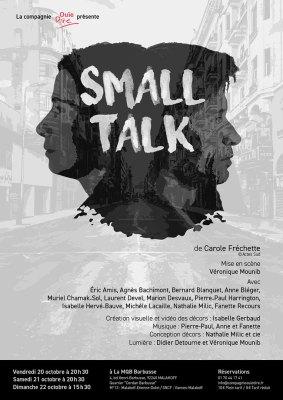 Spectacle Small Talk de Carole Fréchette