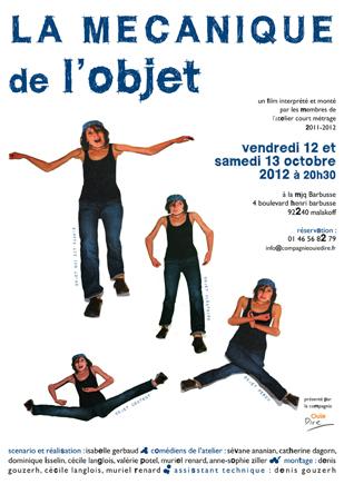 Film de l'Atelier courts métrages 2011-2012