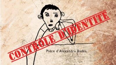 Contrôle d'identité d'Alexandra Badea