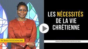 vie chrétienne pasteur bola ogedengbe