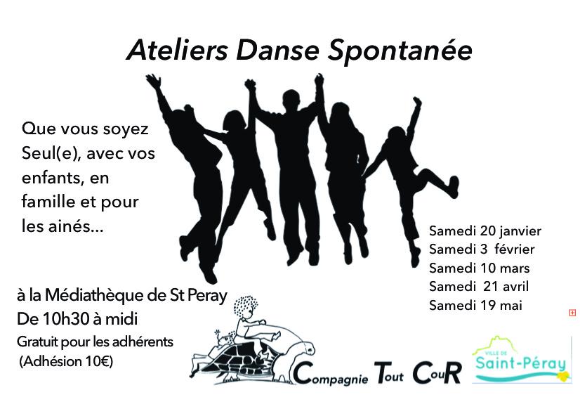 Ateliers danse spontanées 2017