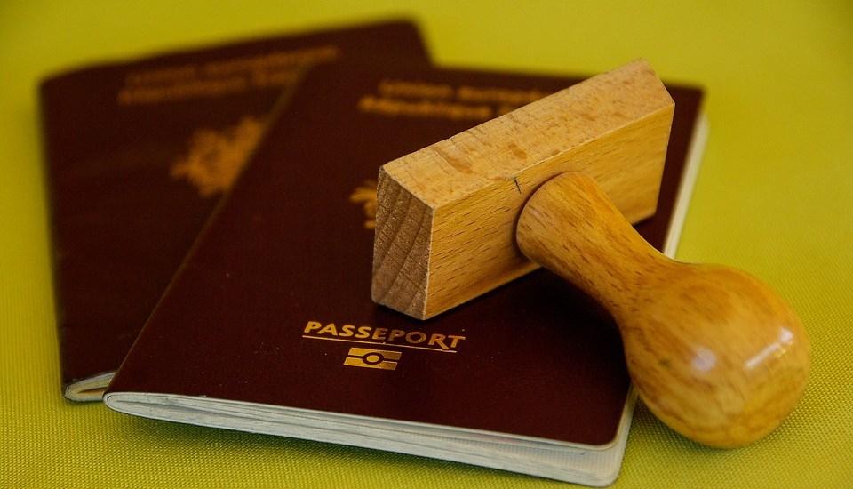 Residence permit passport