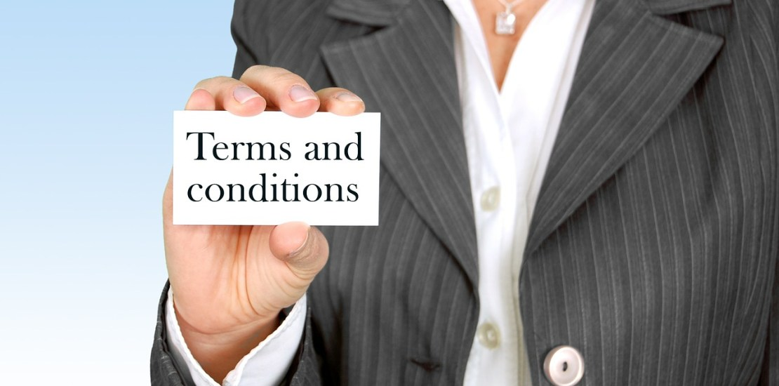 French terms and conditions