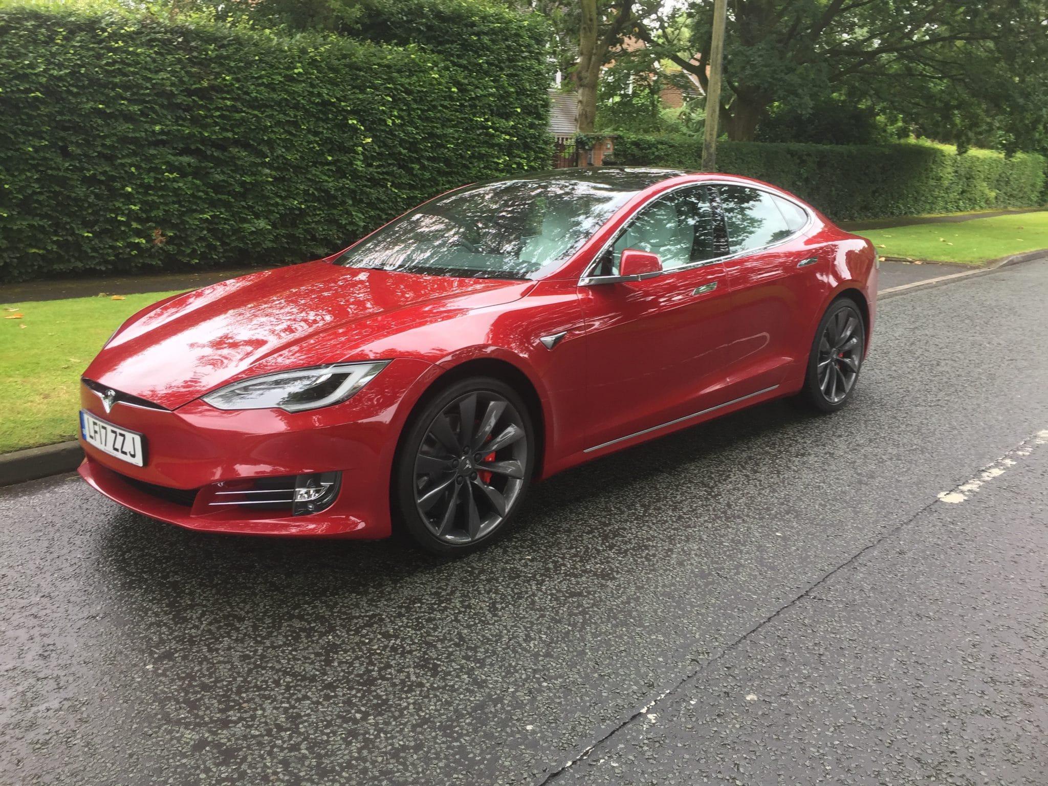 Tesla Model S P100D - Company Car and Van