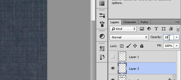Creating an Embossed Effect in Photoshop - Step 14