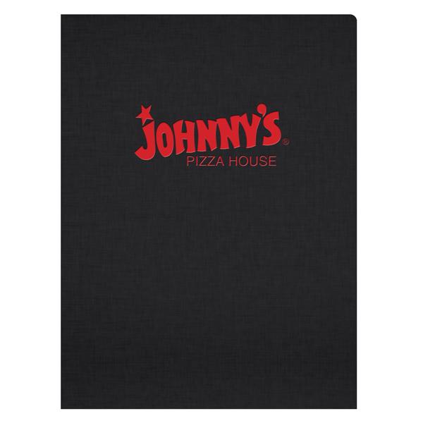 Johnny's Pizza House Foil Stamped Folder