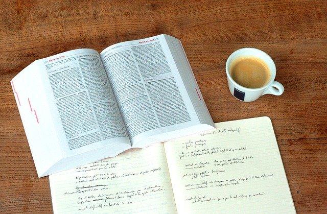 教科書とノート