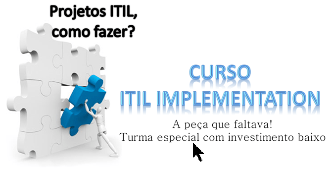 ITIL na Prática – curso ITIL Implementation