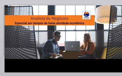 Vídeo | Analista de Negócios | Essencial em tempos de baixa atividade econômica