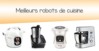 les meilleurs robots de cuisine en