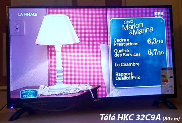 Hkc La Marque De Televiseur Led Hd A Petit Prix Tv 32c9a