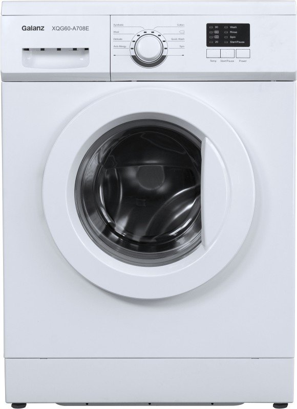 Galanz 6 kg Quick Wash Fully Automatic Front Load with In-built Heater (XQG60-A708E)