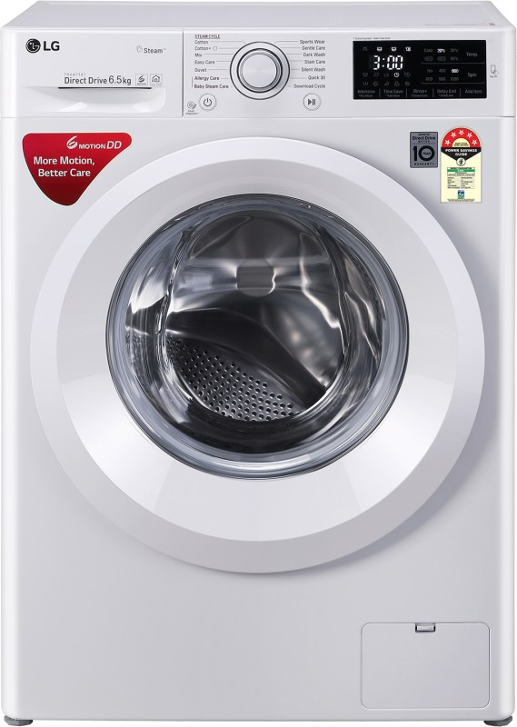 LG 6.5 kg Fully Automatic Front Load with In-built Heater (FHT1065HNL)