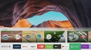 Samsungs Tizen OS Smart TV-operativsystem