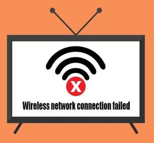 TV förlorar Wifi