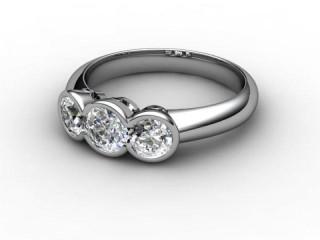 Trilogy Palladium Round Brilliant-Cut Diamond-01-6633-1020