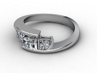Trilogy Palladium Asscher-Cut Diamond-06-6633-2301