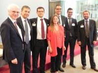 Rivoli (TO), 30.09.2013 – IREF: Michel Kahn, Marco Siviero, Mirco Comparini, Norman Cescut, Marco Galimberti, Antonio Magrini