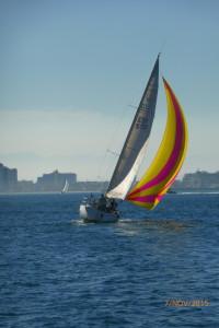 Ro 330 navegando con asimetrico