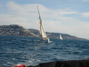 Navegar a vela Costa Brava