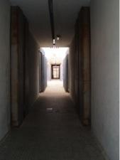 Lateral corridor of the female living unit at Ponte Galeria (Photo: F. Esposito)