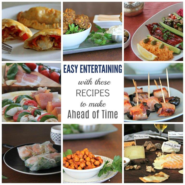 Make Ahead Entrees Dinner Party