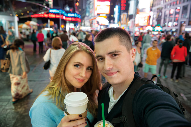 New York dating couple