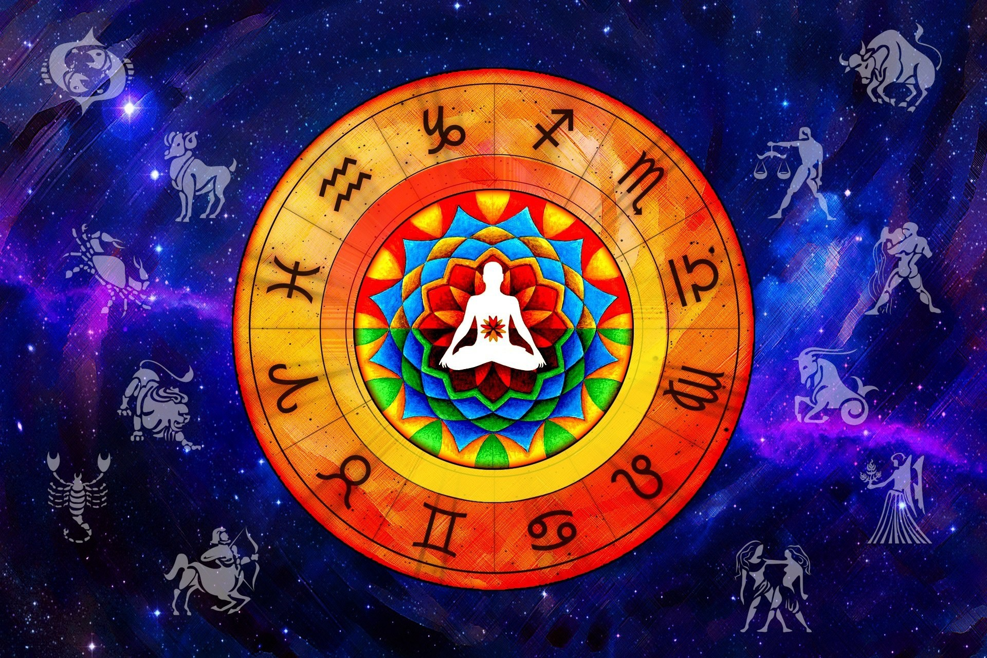 Centered zodiac