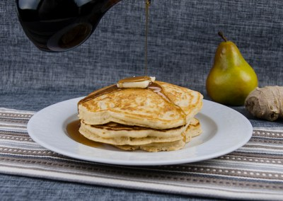 Ginger Pear Pancakes