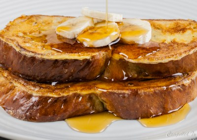 Cardamom Banana Bread French Toast