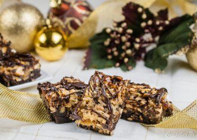 Chocolate Coconut Nut Bars
